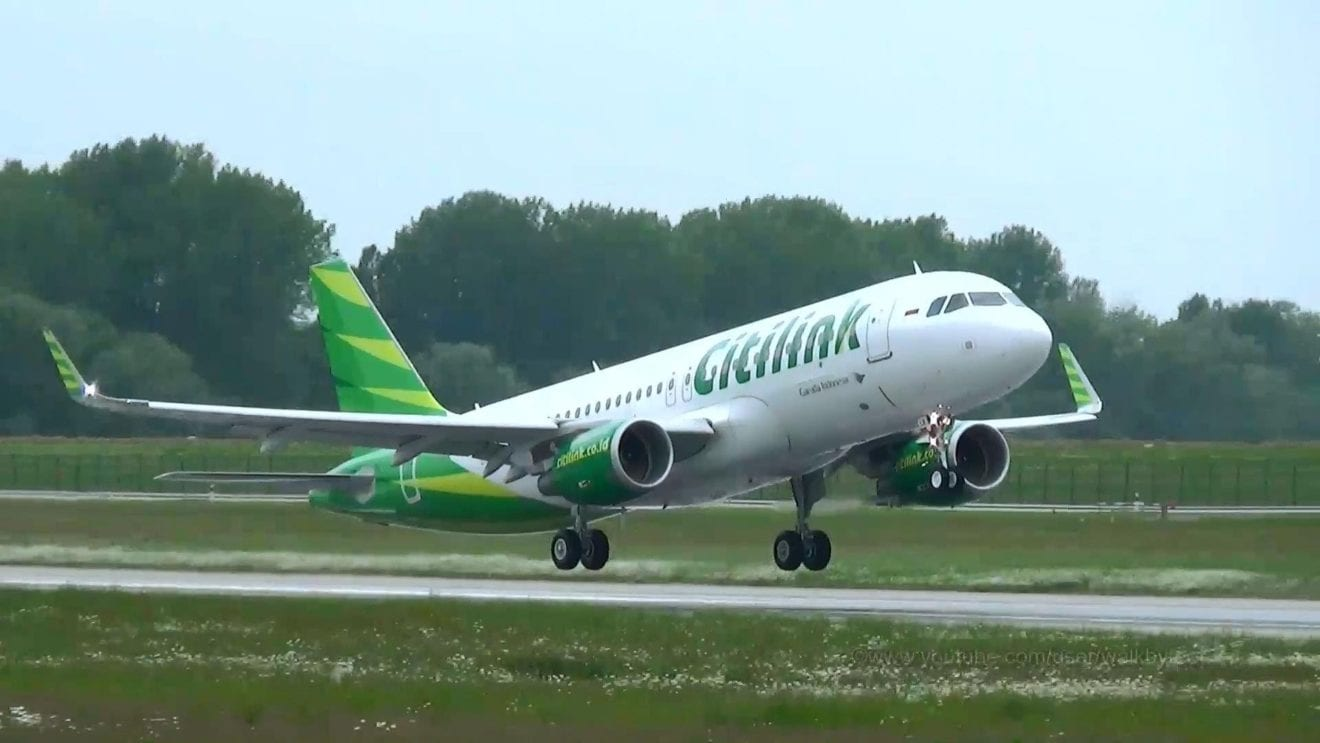Citilink adds another a320 to its fleet retail news asia reheart Image collections