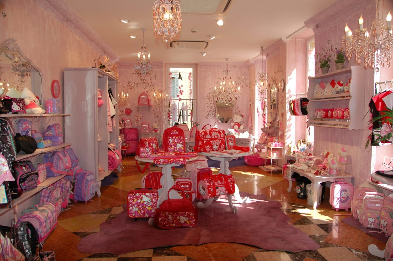 hiya kitty shops destined for us retail news asia. Black Bedroom Furniture Sets. Home Design Ideas