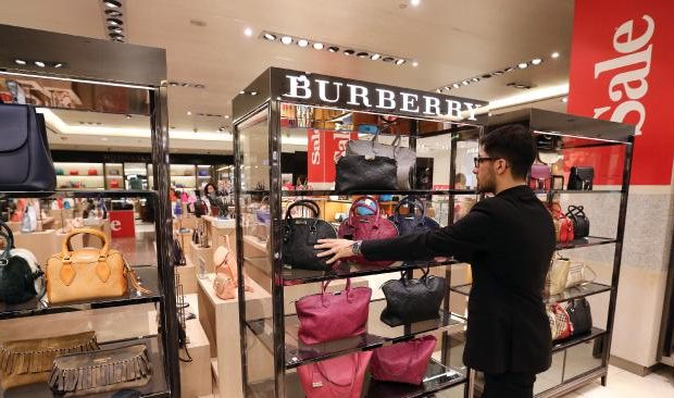 burberry outlet store online shopping hf1z  Burberry posted disappointing fiscal second-half sales and warned on profit  for the current fiscal year, sending its shares lower and highlighting the