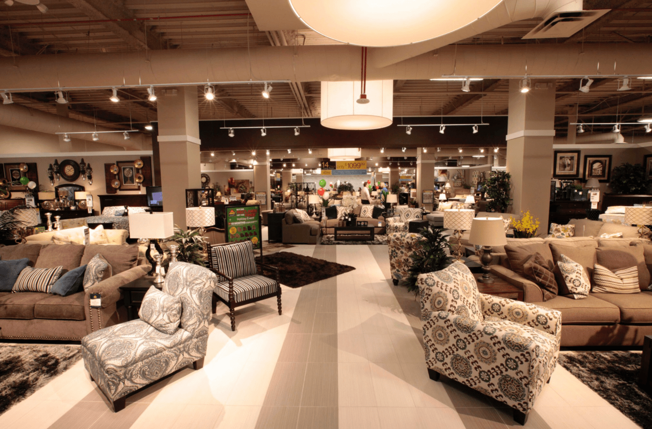 Ashley furniture home store opens in penang retail news asia - Home furnishing stores ...
