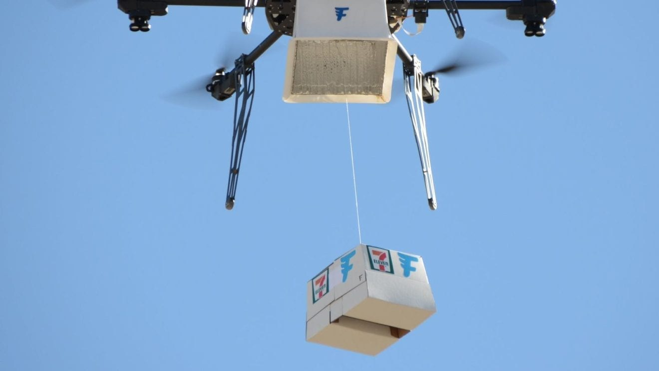 Fashion 2017 in philippines - 7 Eleven Us Trials Drone Deliveries Retail News Asia