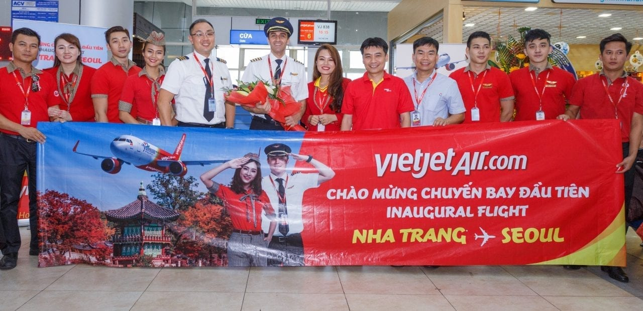 Vietjet launches new route connecting Nha Trang and Seoul