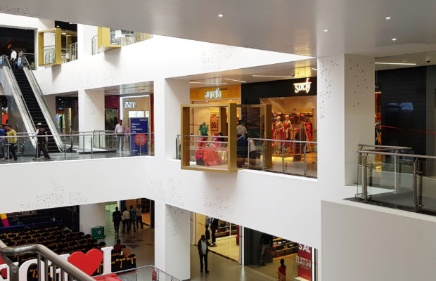 A Shopping Mall Designed By International Consultant Broadway Malyan Has Opened In India The Firm Was Appointed Prestige Group To Design Interior
